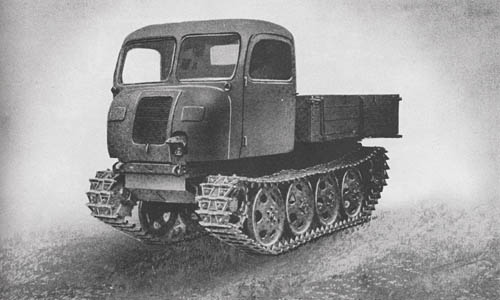 Raupenschlepper OST (Steyr RSO): Full Track Light Prime Mover