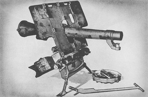 10.5 cm L.G. 40: Recoilless Gun