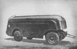 Fb. K. Anh. (Ah. 454): Airplane Fuel Tank Trailer: Flugbetriebsstoff-Kesselwagen