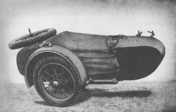 Beiwg. für Krad. (o): Side Car for Motorcycle -- Beiwagen für Kraftrad (o) (Einheitsbeiwagen).
