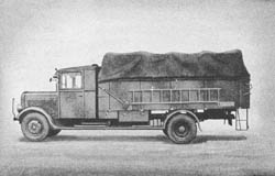 Fsp. Baukw.: Telephone Construction Truck - Fernsprechbaukraftwagen