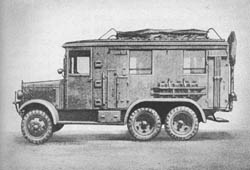 Fu. Kw. (Kfz. 61): Radio Truck