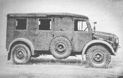 German Verst. Kw. (Kfz. 24): Maintenance Truck