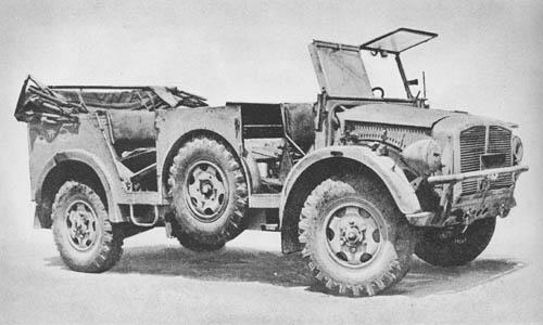 Mannsch. Kw. (Kfz. 70): Command Reconnaissance Car
