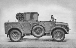 leichter Scheinwerferkraftwagen I (Kfz. 83) mit Einheitsfahrgestell II für schwerer Pkw.