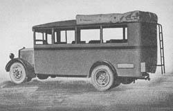 Leichter Kraftomnibus (o) -- l. Kom. (o): Light Motor Bus