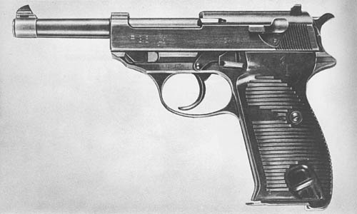 9 mm Pistole 38 (Walther): Automatic Pistol