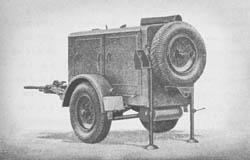 gr. Druckl. Erz. 34 als Anh. (l achs.) fahrbar: Large Air Compressor
