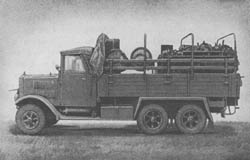 Ff. Kabel Kw.: Field Telephone Cable Truck