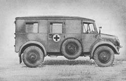 Krankenkraftwagen: Kr. Kw. (Kfz. 31): Ambulance