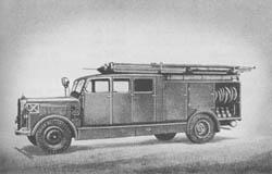 K. S. 25 (o): Fire Engine: Kraftfahrspritze