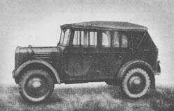 l. gl. Pkw. (Kfz. 1): Light Cross-Country Personnel Carrier