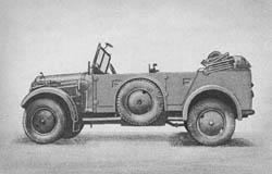 Nachr. Kw. (Kfz. 15): Signal Communications Car: Nachrichtenkraftwagen