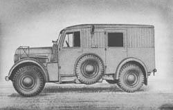 Fu. Kw. (Kfz. 17/1): Radio Car: Funkkraftwagen