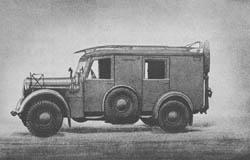 Fu. Kw. (Kfz. 17): Radio Car: Funkkraftwagen