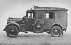 Fsp. Betr. Kw. (Kfz. 17): Telephone Exchange Car