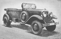 s. gl. Pkw. (Kfz. 21): Heavy Cross-Country Personnel Car