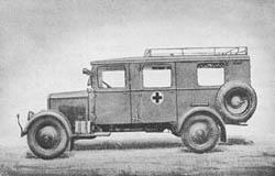 Krankenkraftwagen (Kfz. 31): Kr. Kw. (Kfz. 31): Ambulance