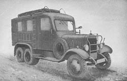 Fernschreibkraftwagen: Fernschr. Kw. (Kfz. 61): Teletype Truck