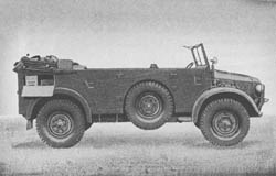 l. Flkw. (Kfz. 81): Antiaircraft Unit Light Car