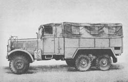 l. gl. Lkw. off. — Kw. III: Light Cross-Country Truck (Open)