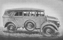 Protzkw. (Kfz. 69): Limber Truck