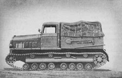s. R.-Schlepper (Praga T 9): Heavy Full-Tracked Prime Mover