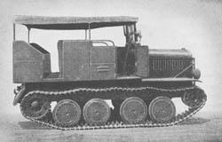 l. R.-Schlepper (Praga T 3): Light Full-Tracked Prime Mover: leichter Raupenschlepper
