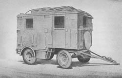 Betr. Fu. Empf. Anh. (2 achs.) (Ah. 471): Radio Exchange Office Trailer