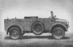 l. Scheinw. Kw. II (Kfz. 83): Light Searchlight Truck II