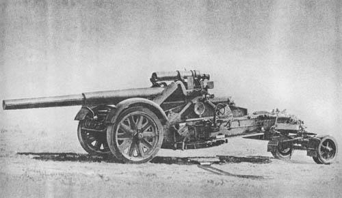 21 cm Mrs. mit Mrs. Laf. 18: Heavy Howitzer