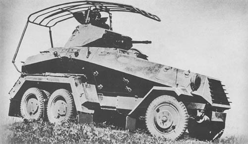 s. Pz. Sp. Wg. (Sd. Kfz. 231, 232, 263): 6-Wheeled Armored Cars
