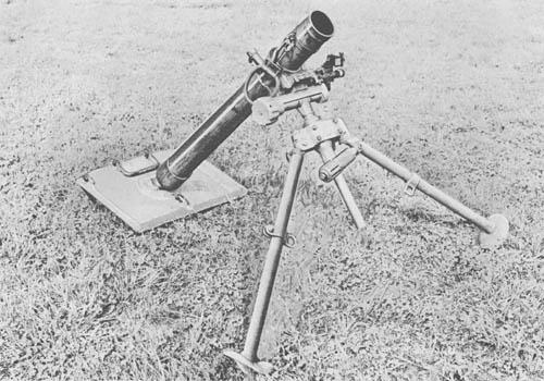 8 cm s. Gr. W. 34: Heavy Mortar (WW2)