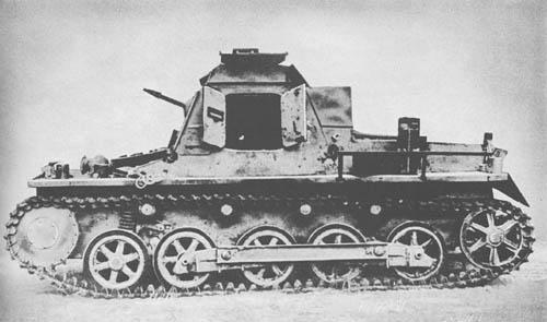 Befehlspanzer: Pz. Kpfw. I kl. Pz. Bef. Wg. (Sd. Kfz. 265): Light Command Tank