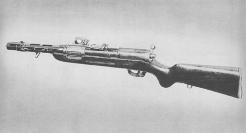 9 mm M.P. 34 Bergmann Submachine Gun