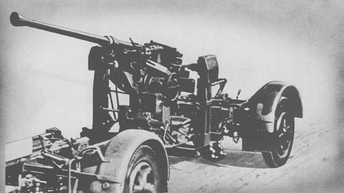 4 cm Flak 28 (Bofors): Antiaircraft Gun (Ex-Swedish)