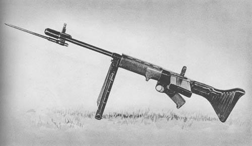 7.92 mm Fallschirmjäger Gewehr FG-42 Automatic Rifle, Paratroop