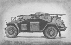 l. Pz. Sp. Wg. (Fu.) (Sd. Kfz. 223): Light Armored Scout Car