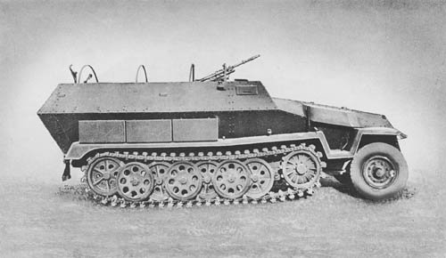 m. gp. Mannsch. Kw. (Sd. Kfz. 251): Medium Armored Personnel Carrier