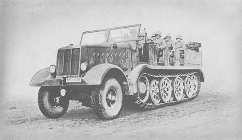 s. Zgkw. 18t - Sd.Kfz. 9: Heavy Semitrack Prime Mover