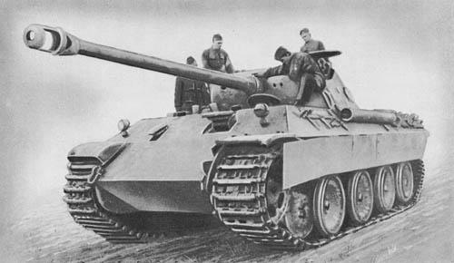 Pz. Kpfw. Panther (7.5 cm Kw. K. 42 L/70) - Sd. Kfz. 171 WW2 Heavy Tank