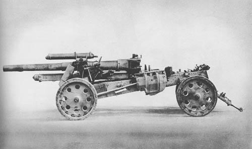 15 cm s.F.H. 18: Medium Howitzer
