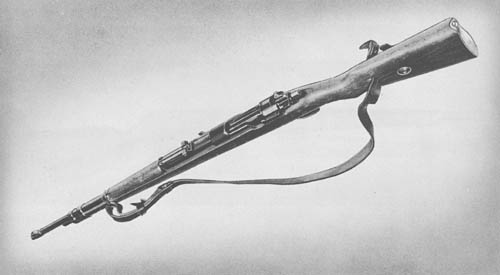 7.92 mm Karbiner 98K (Mauser-Kar. 98K): Rifle