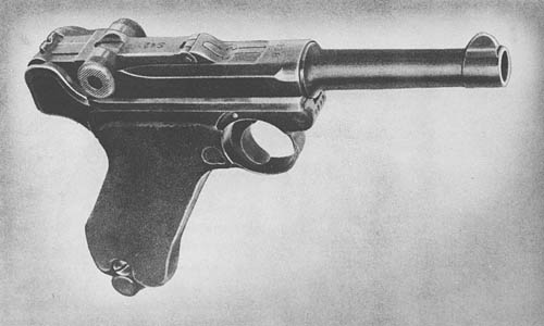 WW2 German Parabellum Pistol