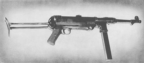MP 38 and MP 40 Schmeisser Submachine Gun