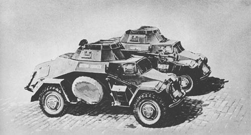 l. Pz. Sp. Wg. (Sd. Kfz. 221, 222, 223): 4-Wheeled Armored Cars