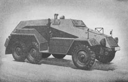 s. gl. gp. Pkw. (Sd. Kfz. 247): Heavy Cross-Country Armored Personnel Car