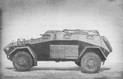 Pkw. Sd. Kfz. 247 Heavy Cross-Country Armored Personnel Car
