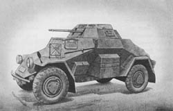 l. Pz. Sp. Wg. (Sd. Kfz. 222): Light Armored Scout Car