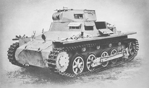 Pz. Kpfw. I Ausf. B (Sd. Kfz. 101): Light Tank